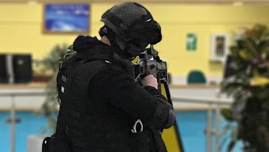 Emergency Services Training Exercise Takes Place in Humberside